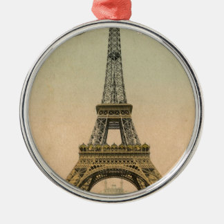 Vintage Eiffel Tower Christmas Tree Ornaments