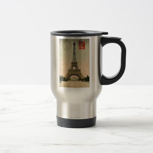 Vintage Eiffel Tower Coffee Mug