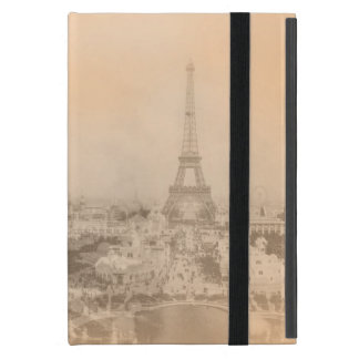 Vintage Eiffel Tower Cover For iPad Mini