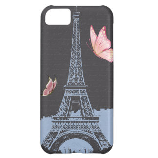 Vintage Eiffel Tower Cover For iPhone 5C