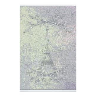 Vintage Eiffel Tower Customized Stationery