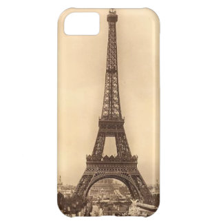 Vintage Eiffel Tower Design iPhone 5C Cases