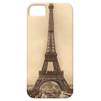 Vintage Eiffel Tower Design iPhone 5 Case