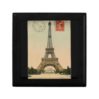 Vintage Eiffel Tower Gift Box