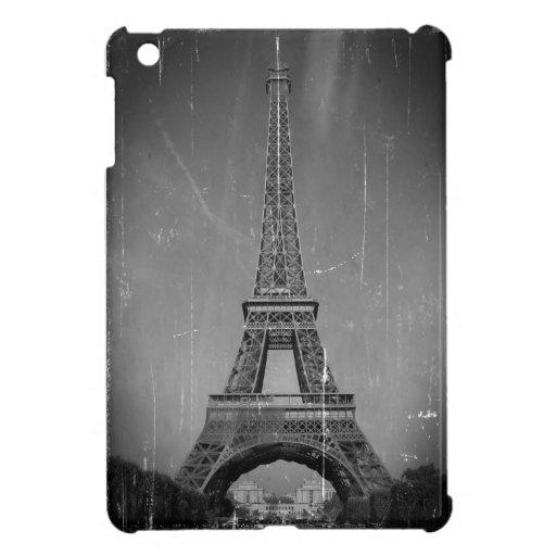 Vintage Eiffel Tower iPad Mini Covers
