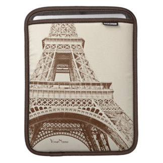 Vintage Eiffel Tower Sleeve For iPads