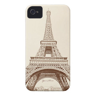 Vintage Eiffel Tower iPhone 4 Cover