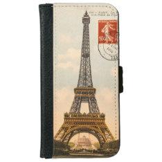 Vintage Eiffel Tower iPhone 6 Case at Zazzle