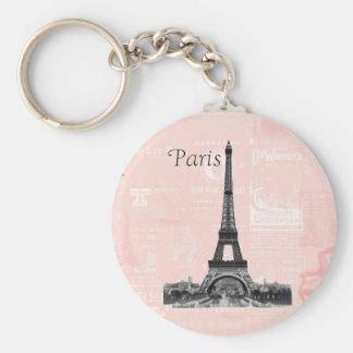 Vintage Eiffel Tower Keychain