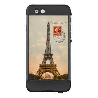 Vintage Eiffel Tower LifeProof NÜÜD Apple iPhone 6
