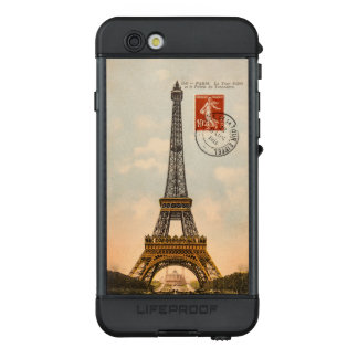 Vintage Eiffel Tower LifeProof NÜÜD iPhone 6s Case