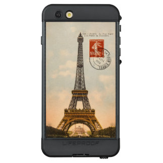 Vintage Eiffel Tower LifeProof NÜÜD iPhone 6s Plus