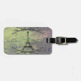 Vintage Eiffel Tower Tag For Bags