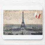 Vintage Eiffel Tower Mousepads