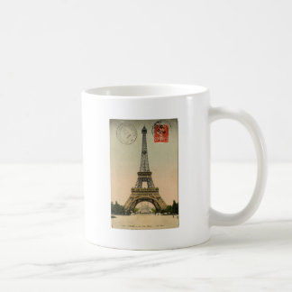 Vintage Eiffel Tower Coffee Mugs