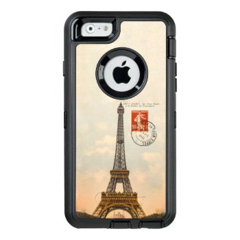 Vintage Eiffel Tower Otterbox Defender Iphone 6/6s by Rad_Designs at Zazzle