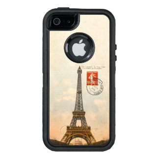 Vintage Eiffel Tower OtterBox iPhone SE/5/5s Case