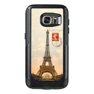 Vintage Eiffel Tower OtterBox Samsung S7 Case