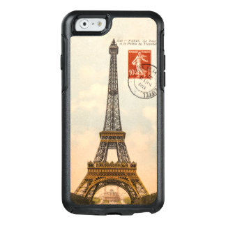 Vintage Eiffel Tower OtterBox Symmetry iPhone 6/6s
