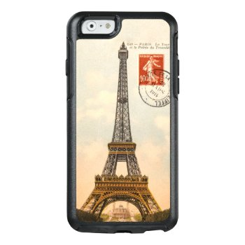 Vintage Eiffel Tower Otterbox Symmetry Iphone 6/6s Otterbox Iphone 6/6s Case by Rad_Designs at Zazzle