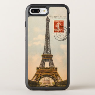Vintage Eiffel Tower OtterBox Symmetry iPhone 6/6s OtterBox Symmetry iPhone 7 Plus Case