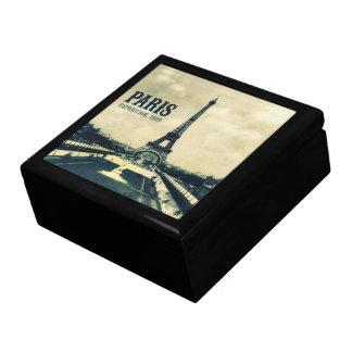 Vintage Eiffel Tower Paris 1889 Keepsake Box