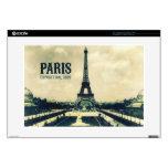 Vintage Eiffel Tower, Paris, 1889 Skin For Laptop