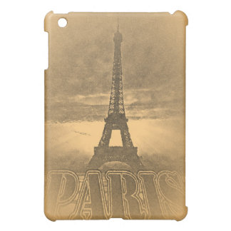 Vintage Eiffel Tower Paris #1 - iPad Case