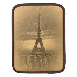 Vintage Eiffel Tower Paris #1 - iPad sleeve