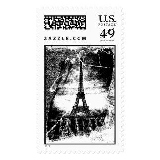 Vintage Eiffel Tower Paris #1 Postage