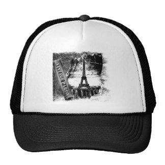 Vintage Eiffel Tower Paris #2 - Hat