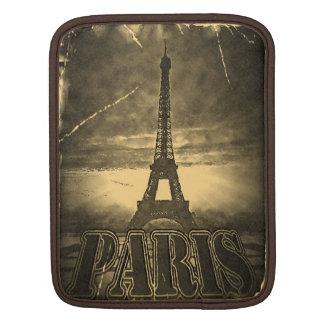 Vintage Eiffel Tower Paris #2 - iPad sleeve