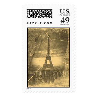 Vintage Eiffel Tower Paris #2 Postage