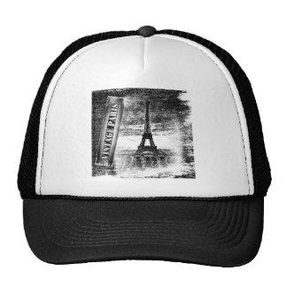 Vintage Eiffel Tower Paris #3 - Hat