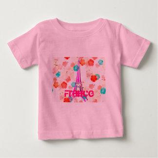 Vintage Eiffel Tower- Paris Baby T-Shirt