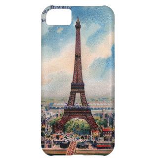 Vintage Eiffel Tower Paris France photo -iPhone 5 Case For iPhone 5C