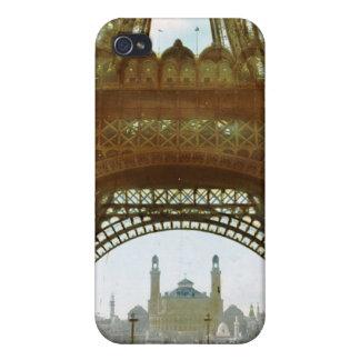 Vintage Eiffel Tower Paris Photograph iPhone 4/4S Covers