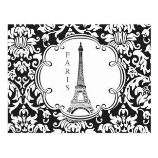 Vintage Eiffel Tower Paris postcard