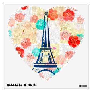 Vintage Eiffel Tower- Paris Wall Decal