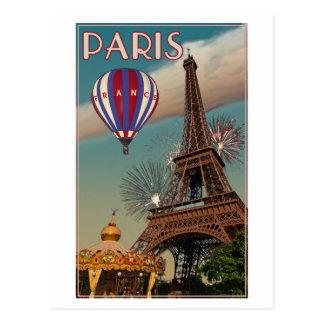 Vintage Eiffel Tower Post Cards