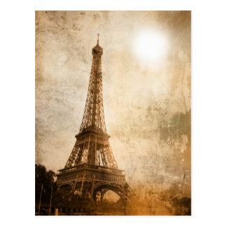 Vintage Eiffel Tower Postcards