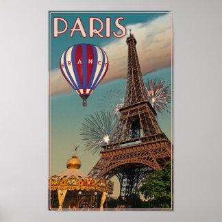 Vintage Eiffel Tower Posters