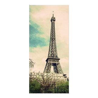 Vintage Eiffel Tower Rack Card