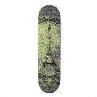 Vintage Eiffel Tower Skateboard Deck