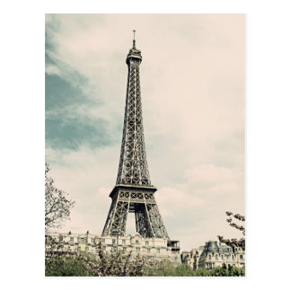 Vintage Eiffel Tower V2 Post Cards