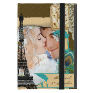 Vintage Eiffel Tower Vintage Peacock iPad Mini iPad Mini Case