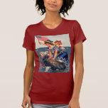 vintage el 4 de julio camiseta