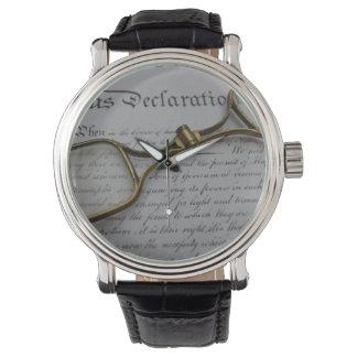 vintage el 4 de julio relojes