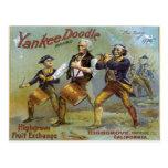 Vintage el 4 de julio tarjeta postal