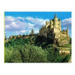 Vintage EL Alchzar   de España, Segovia Tarjeta Postal